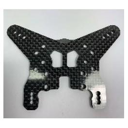 Support amortisseur arrière carbone low mount
