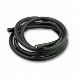 Fil silicone 10AWG long 1m...